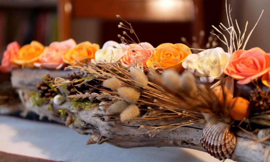 décoration de table mariés 2018